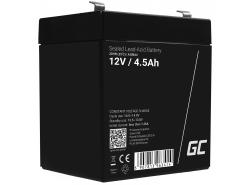Green Cell ® -batterij AGM VRLA 12V 4.5Ah