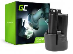 Green Cell ® snoerloos gereedschap voor Bosch GLI 10.8V-LI GSR 10.8V-LI