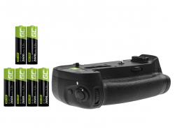 Batterij Grip Green Cell MB-D18 + 6x AA Batterij HR6 2600mAh voor de Nikon D850 camera