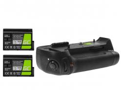 Grip Green Cell MB-D12H voor de Nikon D800 D800E D810 D810A camera
