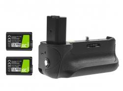 Grip Green Cell VG-A6300RC voor de Sony A6000 A6300 camera