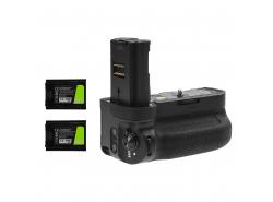 Grip Green Cell VG-C3EM voor Sony α9 A9 α7 III A7 III α7R III A7R III Camera