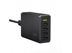Green Cell GC ChargeSource 5 5xUSB 52W-oplader met snel opladen Ultra Charge en Smart Charge