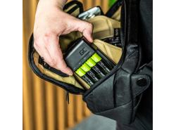 Set Green Cell GC VitalCharger oplader voor batterijen en 4x AA Ni-MH 2000mAh