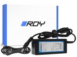 Voeding / lader RDY 19V 3.42A 65W voor Toshiba Satellite C55 C660 C850 C855 C870 L650 L650D L655 L750 L750D L755
