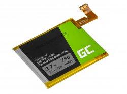 Green Cell ® Batterij 1-756-769-11 voor Sony Portable Reader System PRS-500 oraz PRS-505 Ebook Reader