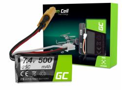 Batterij Green Cell 500mAh 7.4V XT60
