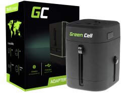 Universele reisadapter Green Cell ® voor socket VS / VK / AUS / China