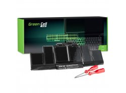 Green Cell PRO Laptop Accu A1417 voor Apple MacBook Pro 15 A1398 (Mid 2012 Early 2013)