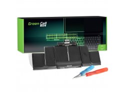 Green Cell PRO Laptop Accu A1494 voor Apple MacBook Pro 15 A1398 (Late 2013 Mid 2014)
